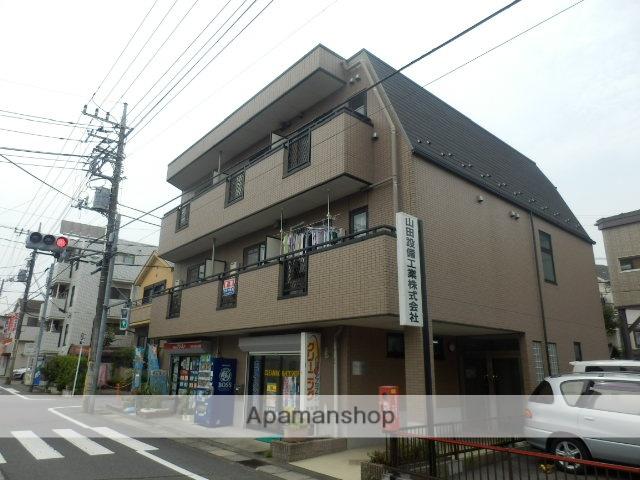 東京都日野市、日野駅徒歩10分の築15年 3階建の賃貸アパート
