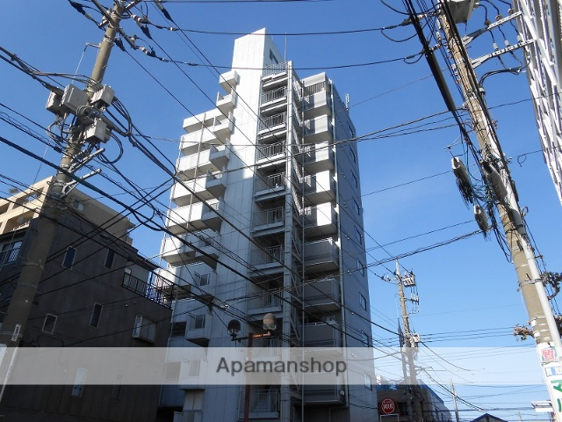 東京都立川市、立川駅徒歩12分の築23年 11階建の賃貸マンション