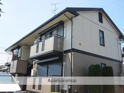 東京都立川市、玉川上水駅徒歩19分の築22年 2階建の賃貸アパート