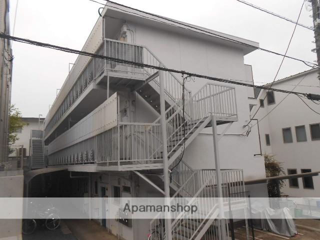 東京都立川市、西国立駅徒歩11分の築38年 3階建の賃貸マンション