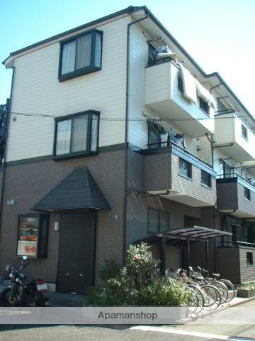 東京都国立市、西国立駅徒歩18分の築16年 3階建の賃貸アパート