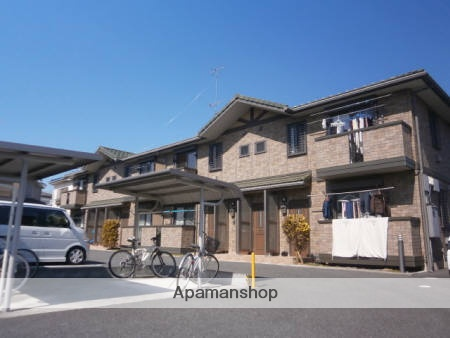 東京都あきる野市、福生駅徒歩23分の築11年 2階建の賃貸アパート