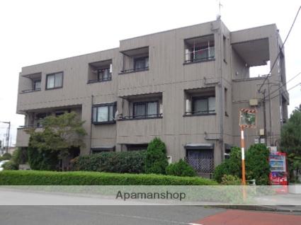 東京都府中市、競艇場前駅徒歩11分の築18年 3階建の賃貸アパート