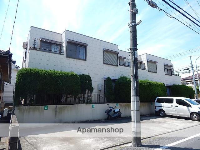 東京都国立市、矢川駅徒歩10分の築28年 2階建の賃貸アパート