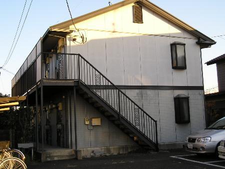東京都国立市、谷保駅徒歩23分の築21年 2階建の賃貸アパート