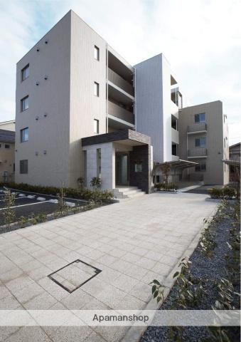 東京都国立市、谷保駅徒歩6分の新築 4階建の賃貸マンション