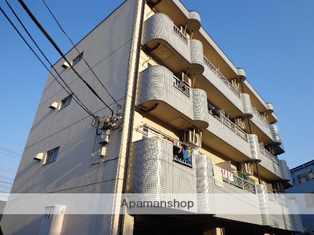 東京都府中市、府中本町駅徒歩11分の築27年 4階建の賃貸マンション
