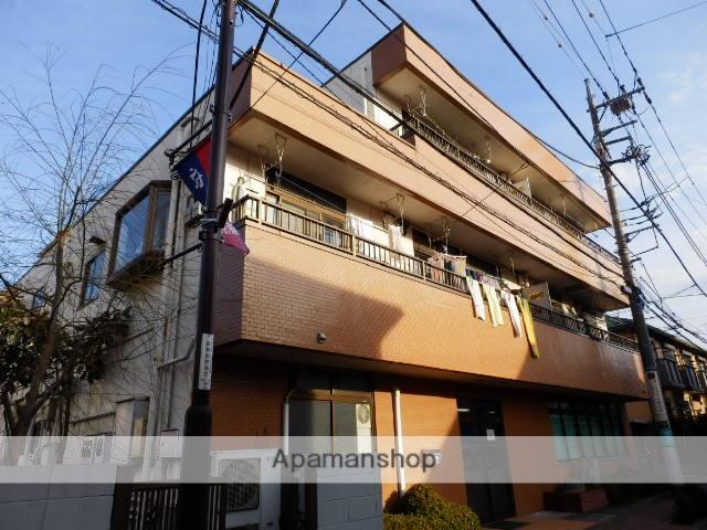 東京都府中市、北府中駅徒歩24分の築28年 3階建の賃貸マンション