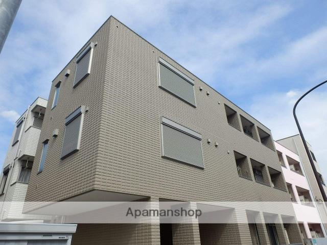 東京都国分寺市、国分寺駅徒歩27分の築3年 3階建の賃貸マンション