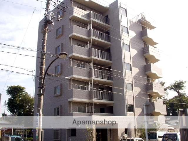 東京都国立市、谷保駅徒歩10分の築14年 7階建の賃貸マンション