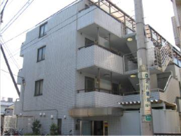 東京都世田谷区、梅ヶ丘駅徒歩9分の築26年 4階建の賃貸マンション