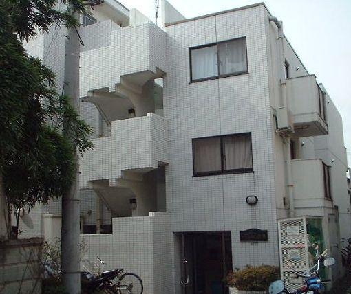 東京都世田谷区、桜新町駅徒歩10分の築25年 4階建の賃貸マンション
