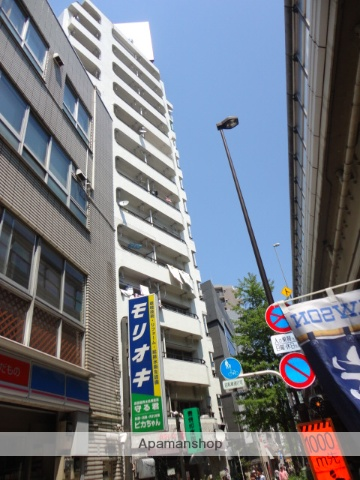 東京都世田谷区、池尻大橋駅徒歩8分の築47年 13階建の賃貸マンション