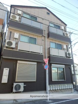 東京都葛飾区、新小岩駅徒歩27分の築2年 3階建の賃貸アパート