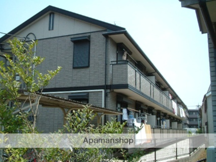 東京都府中市、武蔵野台駅徒歩13分の築16年 2階建の賃貸アパート