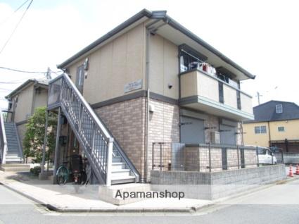 東京都三鷹市、仙川駅徒歩25分の築13年 2階建の賃貸アパート
