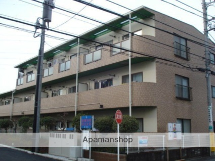 東京都府中市、谷保駅徒歩18分の築23年 3階建の賃貸マンション
