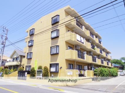 東京都三鷹市、三鷹駅バス14分大沢下車後徒歩2分の築24年 4階建の賃貸マンション