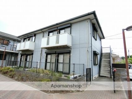 東京都府中市、分倍河原駅徒歩21分の築16年 2階建の賃貸アパート