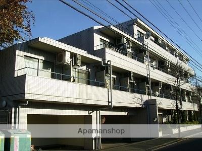 東京都府中市、多磨霊園駅徒歩19分の築29年 4階建の賃貸マンション