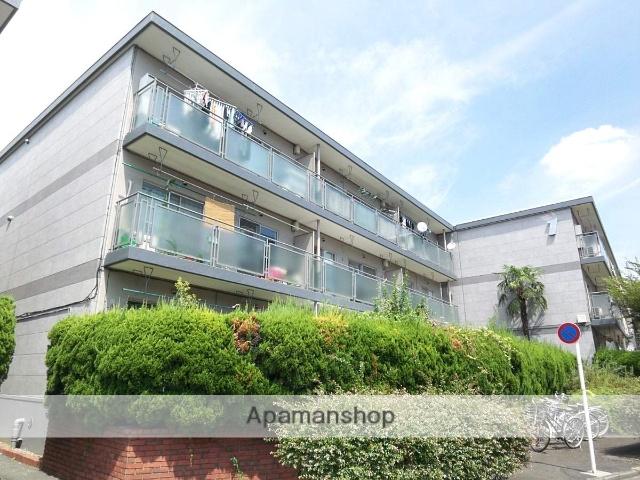 東京都杉並区、代田橋駅徒歩18分の築29年 3階建の賃貸マンション