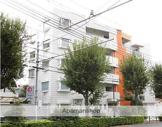 東京都杉並区、永福町駅徒歩8分の築33年 5階建の賃貸マンション