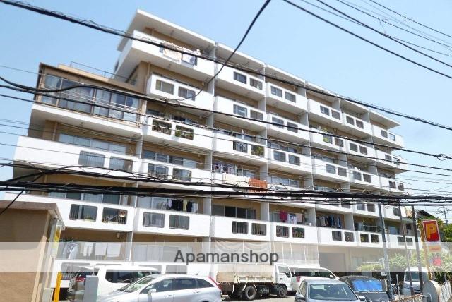 東京都杉並区、代田橋駅徒歩12分の築43年 6階建の賃貸マンション