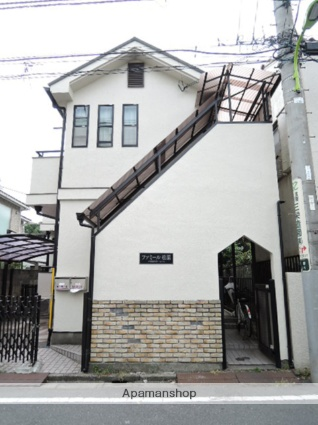 東京都世田谷区、代田橋駅徒歩8分の築25年 2階建の賃貸アパート