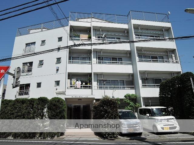 東京都世田谷区、新代田駅徒歩15分の築42年 5階建の賃貸マンション