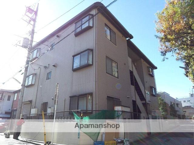 東京都世田谷区、梅ヶ丘駅徒歩2分の築27年 3階建の賃貸マンション