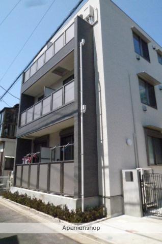 東京都世田谷区、代田橋駅徒歩8分の新築 3階建の賃貸マンション
