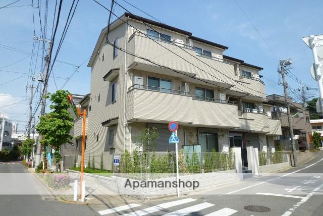 東京都世田谷区、明大前駅徒歩15分の新築 3階建の賃貸アパート