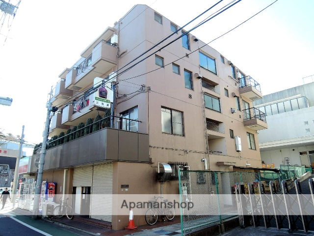 東京都世田谷区、下北沢駅徒歩5分の築37年 4階建の賃貸マンション