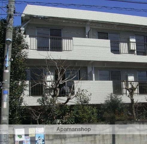 東京都杉並区、八幡山駅徒歩15分の築43年 3階建の賃貸マンション