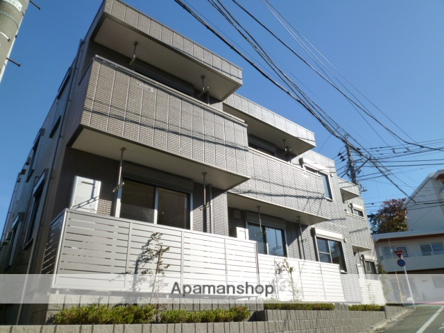 東京都世田谷区、明大前駅徒歩14分の築4年 2階建の賃貸マンション