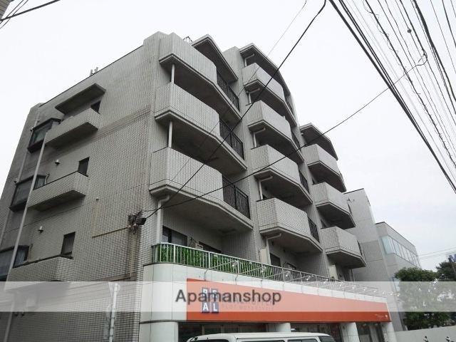 東京都杉並区、永福町駅徒歩18分の築27年 6階建の賃貸マンション