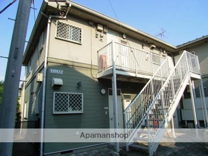 東京都世田谷区、明大前駅徒歩8分の築25年 2階建の賃貸アパート