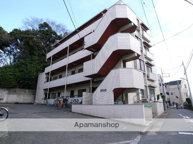 東京都世田谷区、下高井戸駅徒歩15分の築30年 4階建の賃貸マンション