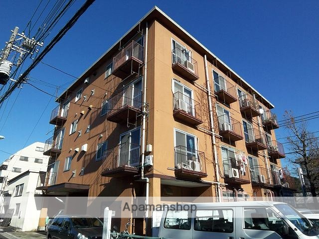 東京都杉並区、八幡山駅徒歩12分の築35年 4階建の賃貸マンション