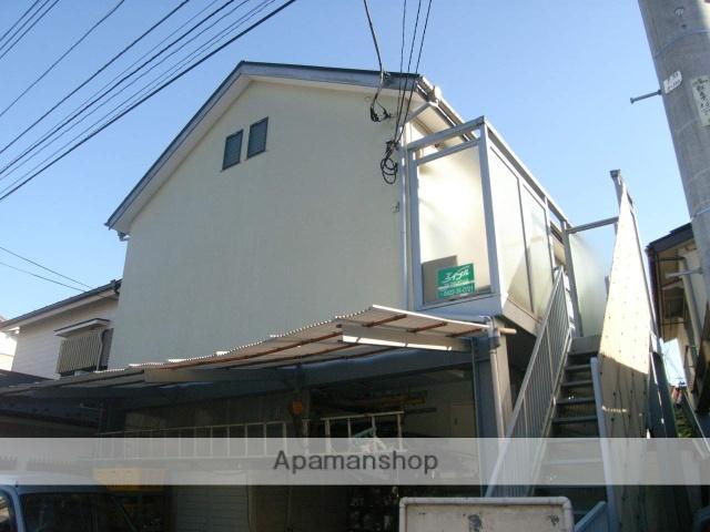 東京都武蔵野市、三鷹駅徒歩25分の築23年 2階建の賃貸アパート