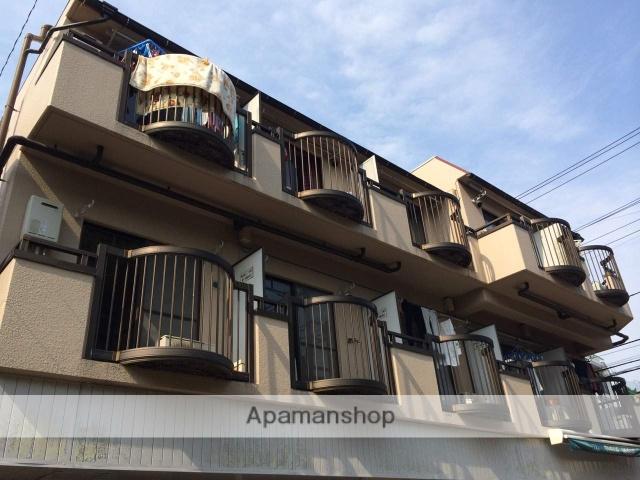 東京都武蔵野市、三鷹駅徒歩25分の築27年 3階建の賃貸マンション
