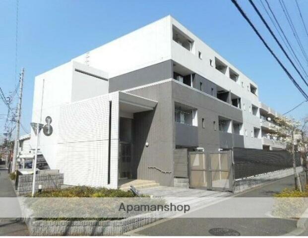 東京都小金井市、武蔵小金井駅徒歩14分の築7年 4階建の賃貸マンション