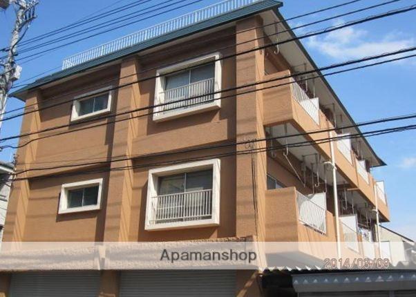 東京都武蔵野市、武蔵境駅徒歩13分の築43年 3階建の賃貸マンション