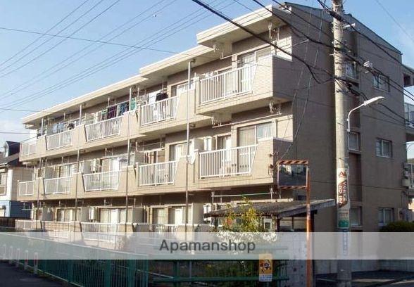 東京都小金井市、東小金井駅徒歩18分の築22年 3階建の賃貸マンション