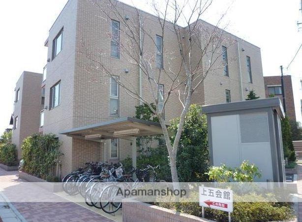 東京都三鷹市、吉祥寺駅徒歩30分の築8年 3階建の賃貸マンション