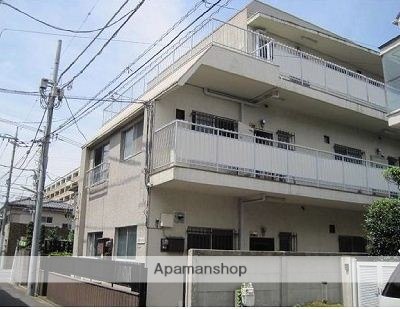 東京都武蔵野市、西荻窪駅徒歩12分の築41年 3階建の賃貸マンション