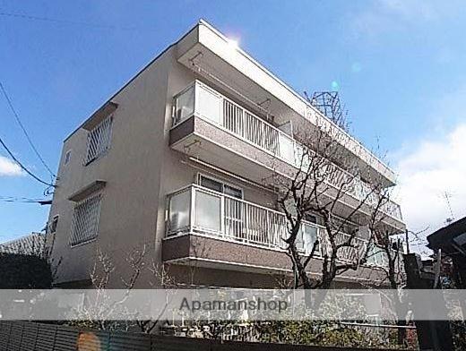 東京都武蔵野市、西荻窪駅徒歩15分の築36年 3階建の賃貸マンション