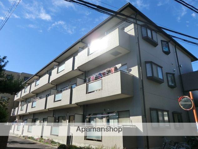 東京都小金井市、武蔵境駅徒歩28分の築23年 3階建の賃貸マンション