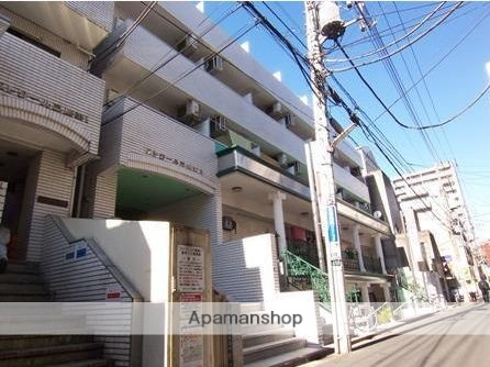 東京都三鷹市、吉祥寺駅徒歩23分の築27年 4階建の賃貸マンション