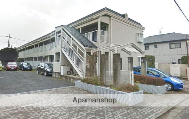 東京都小金井市、東小金井駅徒歩15分の築26年 2階建の賃貸アパート